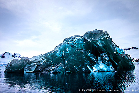 Alex Cornell's Stunning Images of an Overturned Iceberg