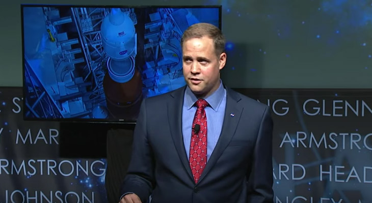 Jim Bridenstine NASA New Chief Administrator Speaks On Climate Change